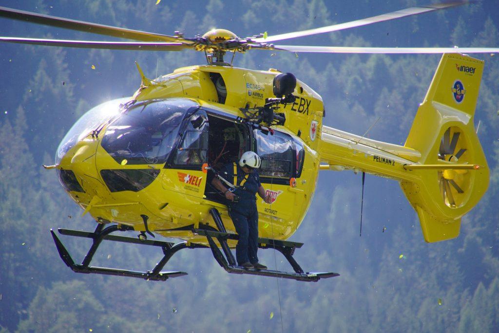 helicopter landing SOPS